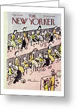 New Yorker September 10 1949 Greeting Card