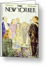 New Yorker September 19 1953 Greeting Card