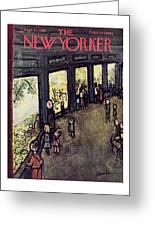 New Yorker September 27 1958 Greeting Card