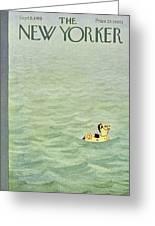 New Yorker September 5 1959 Greeting Card