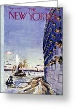New Yorker September 8 1945 Greeting Card