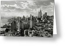 New Your City Skyline Greeting Card