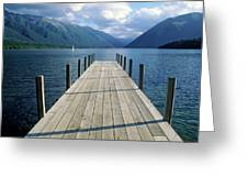 New Zealand Dock Greeting Card