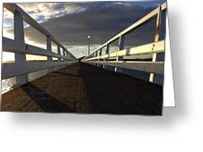 New Zealand - Orakei Wharf Greeting Card