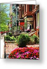 Newberry Street Spring Greeting Card