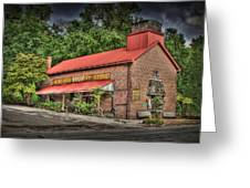 Newburgh Country Store Vignette Greeting Card