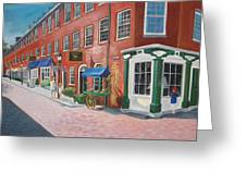 Newburyport  Ma Greeting Card