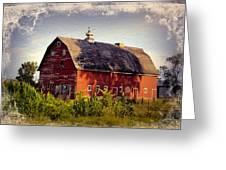 Newell Ave Barn Greeting Card