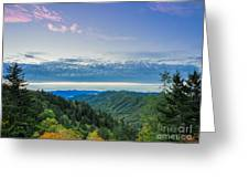 Newfound Gap. Greeting Card