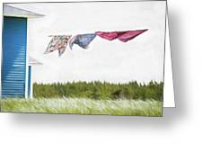 Newfoundland Quilts Greeting Card