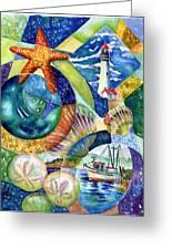 Newport Greeting Card by Ann  Nicholson