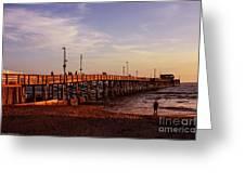 Newport Beach Glow Greeting Card