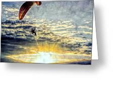 Newport Beach High Flyer Greeting Card