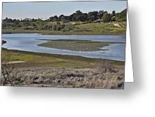 Newport Estuary Looking Across At Visitors Center  Greeting Card