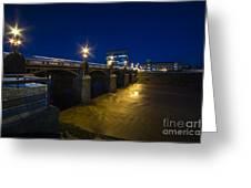 Newport Night Bridge  Greeting Card