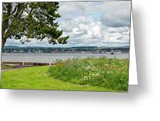 Newport-on-tay In Fife, Scotland Greeting Card