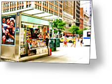 Newsstand Greeting Card
