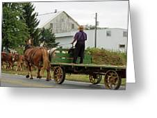 Next Wagon's Ready Greeting Card