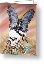 Nexus The Dark Fairy Greeting Card