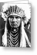 Nez Perce Native American Greeting Card
