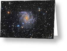 Ngc 6946, The Fireworks Galaxy Greeting Card