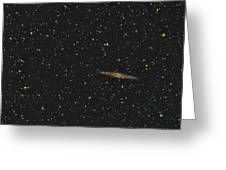 Ngc Eight Nine One And Abell Three Four Seven Greeting Card