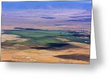 Ngorongoro Crater Tanzania Greeting Card by Aidan Moran