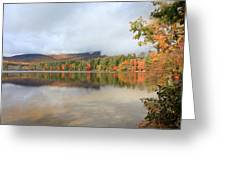 Color On The Lake  Greeting Card