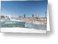 Niagara And Canada Greeting Card