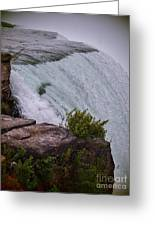 Niagara Fall Edge Greeting Card