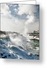 Niagara Falls 4601 Greeting Card