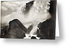 Niagara Falls, C1888 Greeting Card