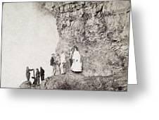 Niagara Falls, C1890 Greeting Card