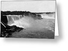 Niagara Falls, C1900 Greeting Card