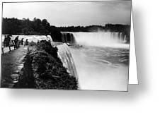 Niagara Falls, C1910 Greeting Card