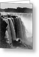 Niagara Falls, C1911 Greeting Card