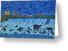 Niagara Falls - Night Greeting Card