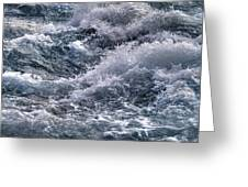 Niagara Falls Rapids Greeting Card