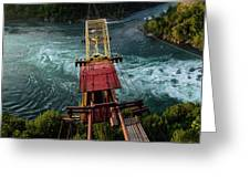 Niagara Falls The Whirlpool Greeting Card