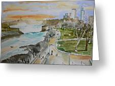 Niagara In Spring Greeting Card