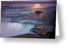 Niagara Reflections Greeting Card