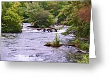 Niagara River  Greeting Card