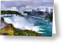 Niagra Greeting Card