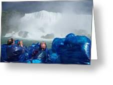 Niagra Falls Photographers Greeting Card