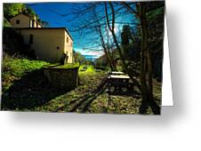 Niasca Hermitage I Portofino Park Passeggiate A Levante Greeting Card