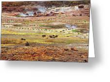Nicaragua Mud Pots Greeting Card