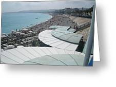 Nice By The Sea. Greeting Card