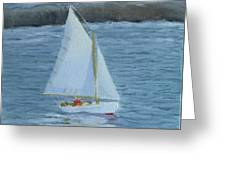 Nice Day For A Sail Greeting Card
