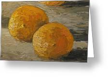 Nice Oranges Greeting Card