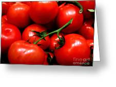 Nice Tomatoes Baby Greeting Card